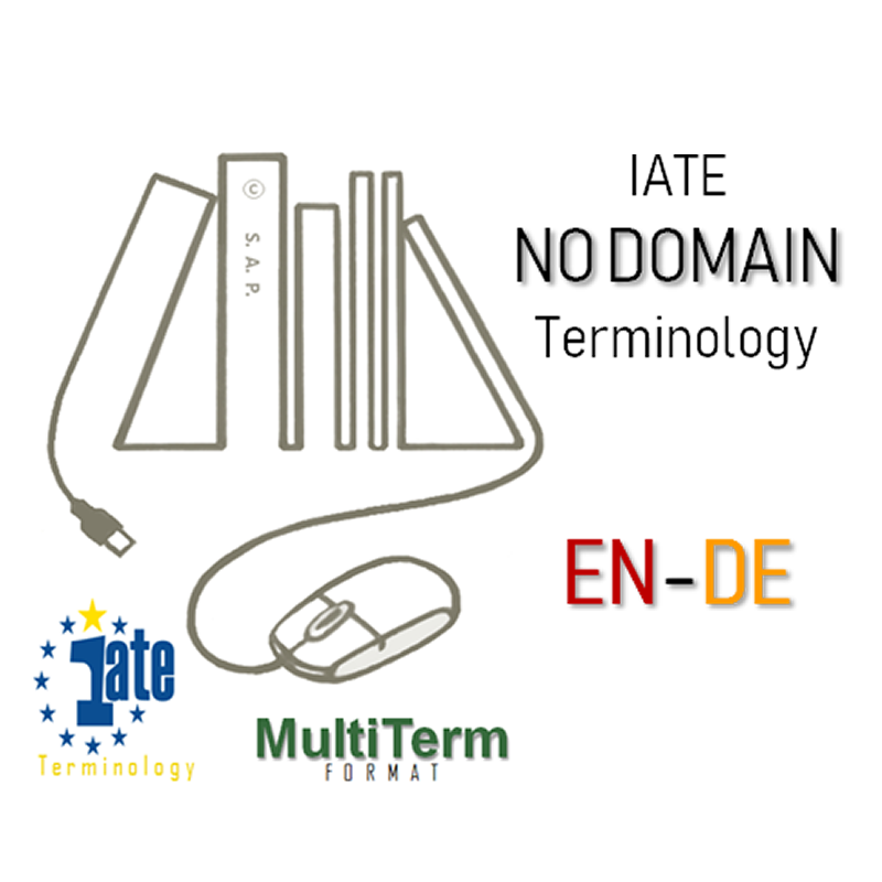 IATE NO DOMAIN Terminology EN-DE